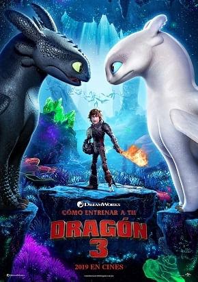 Resultado de imagen de banner como entrenar a tu dragon 3